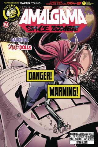 Amalgama: Space Zombie #1 (Maccagni Risque Cover)