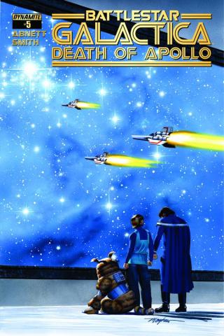 Battlestar Galactica: Death of Apollo #5 (Mayhew Cover)
