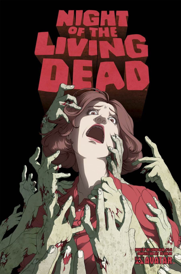 Night of the Living Dead The Beginning Complete Box Set