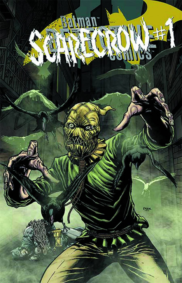 Detective Comics #23.3: The Scarecrow Standard Cover