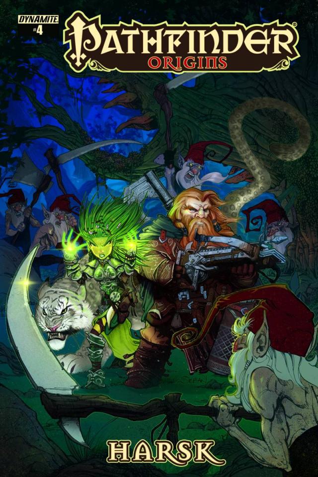 Pathfinder: Origins #5 (Cichon Cover)