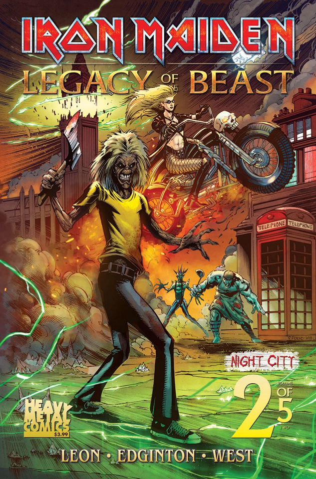 Iron Maiden: Legacy of the Beast - Night City #2 (Cover A)