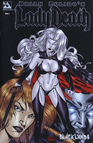 Lady Death: Blacklands #2 (Platinum Foil Cover)