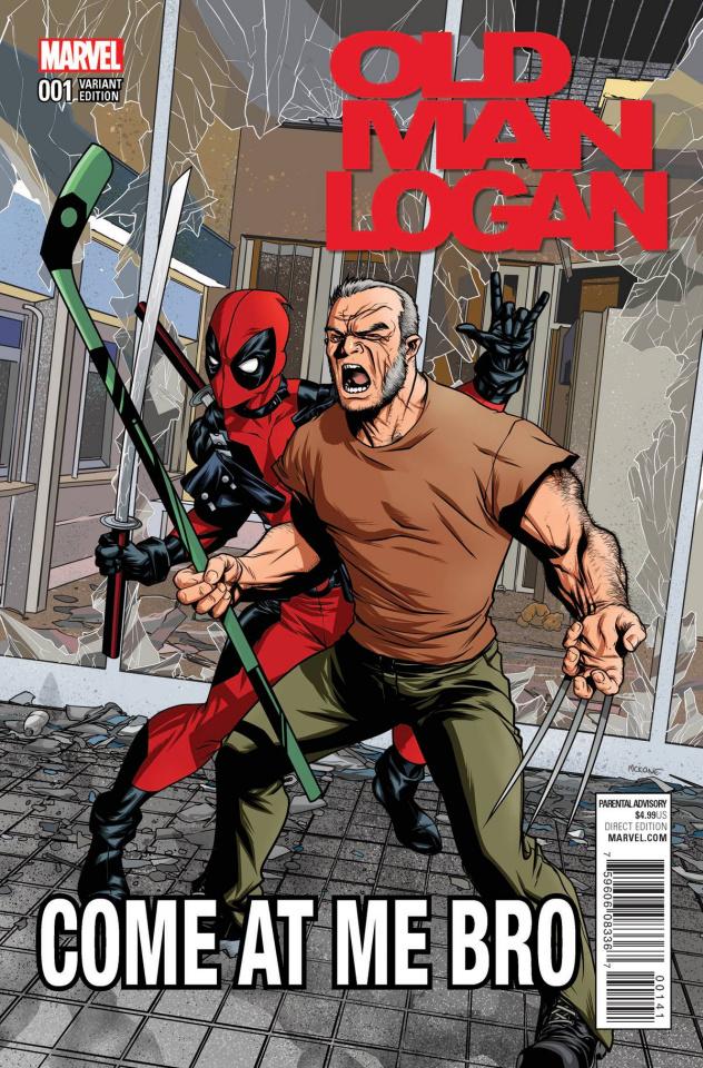 Old Man Logan #1 (McKone Deadpool Cover)