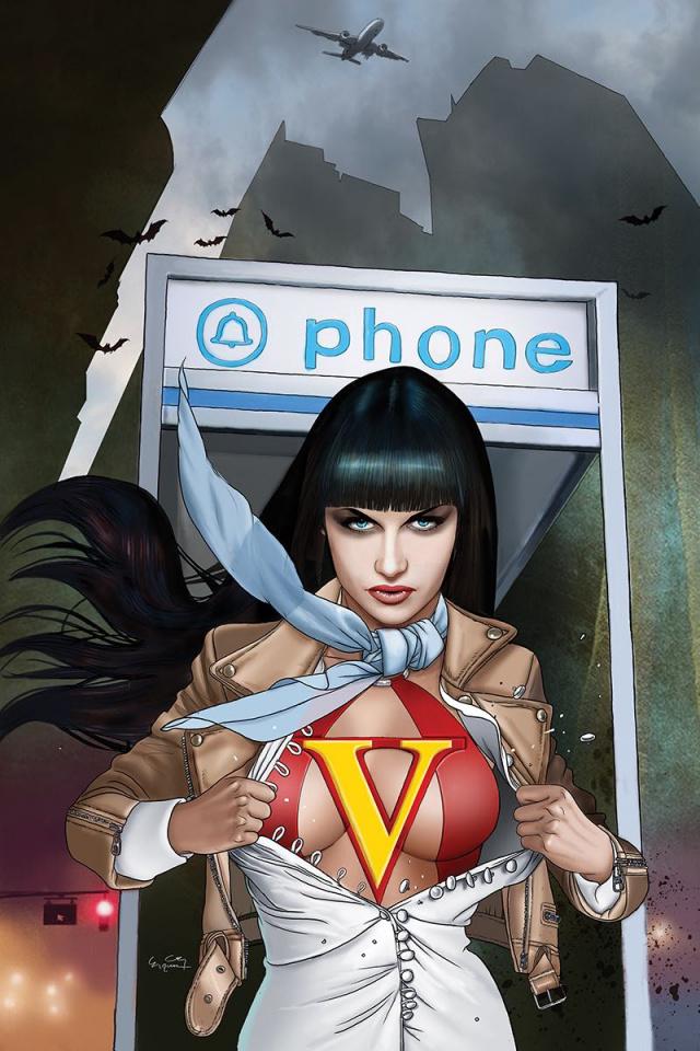 Vampirella #4 (10 Copy Gunduz Virgin Cover)