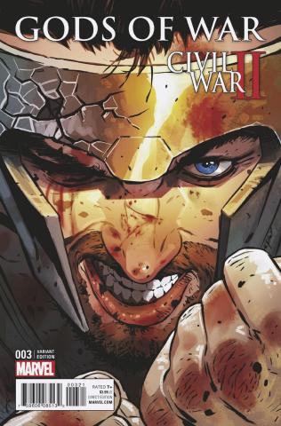Civil War II: Gods of War #3 (Aco Cover)