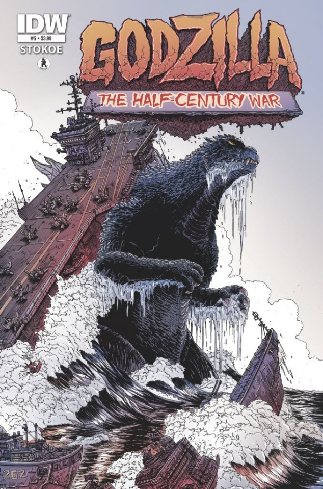 Godzilla: The Half Century War #5