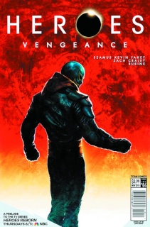 Heroes: Vengeance #4 (Subscription Sharp Cover)