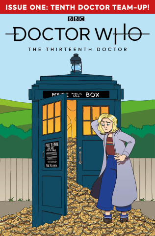 Doctor Who: The Thirteenth Doctor #1 (Pepoy Cover)
