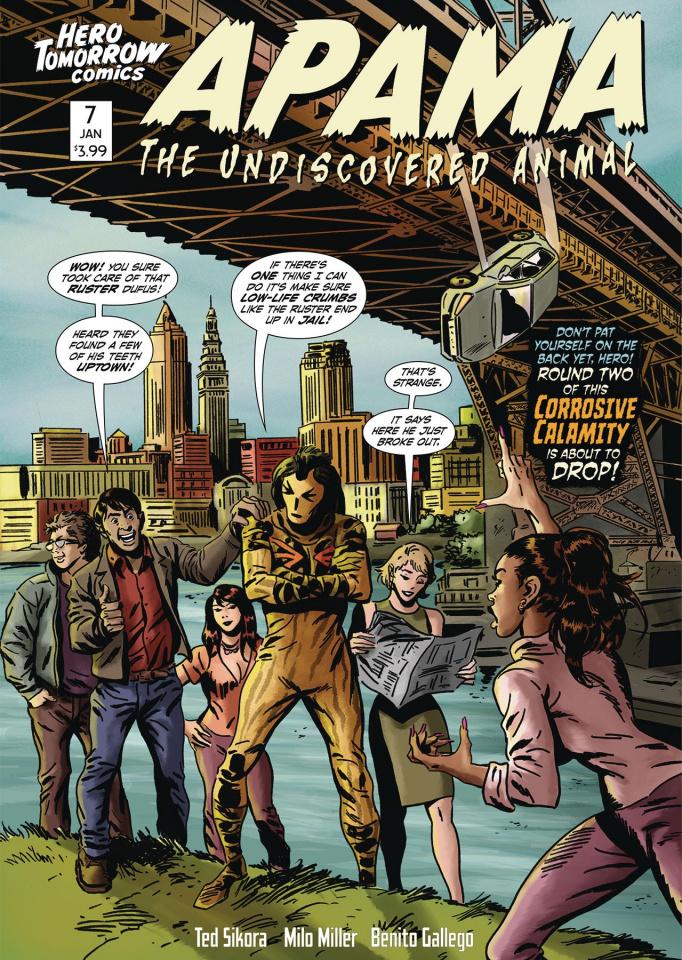 Apama: The Undiscovered Animal #7