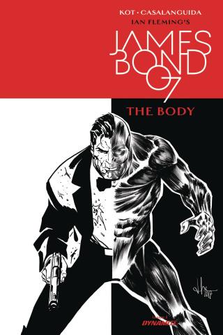 James Bond: The Body #1 (10 Copy B&W Cover)