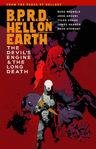 B.P.R.D.: Hell on Earth Vol. 4: The Devil's Engine & The Long Death