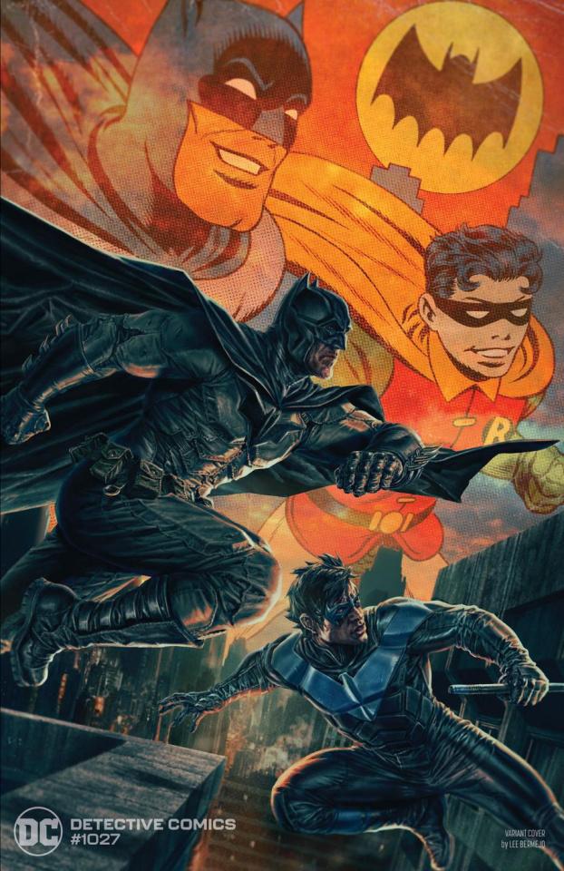 Detective Comics #1027 (Lee Bermejo Batman Nightwing Cover)