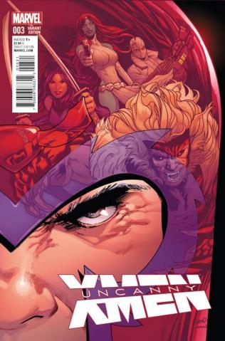 Uncanny X-Men #3 (Land Cover)