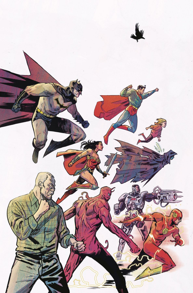 Black Hammer / Justice League #5 (Walsh Cover)