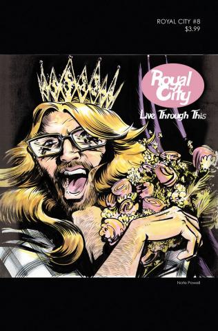 Royal City #8 ('90s Album Homage Cover)