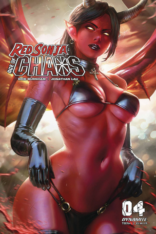 Red Sonja: Age of Chaos #4 (Chew Cover)