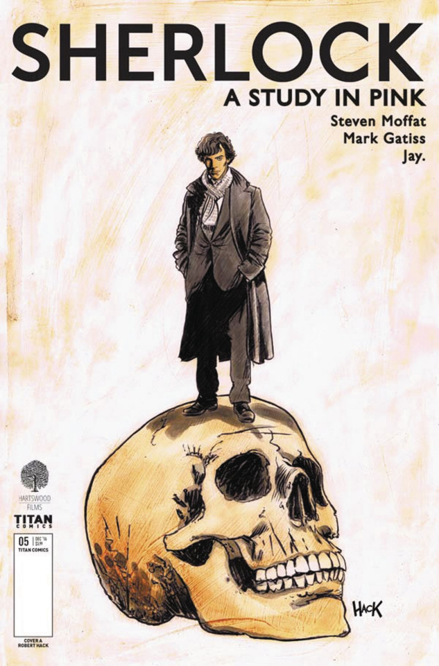 Sherlock: A Study in Pink #5 (Hack Cover)