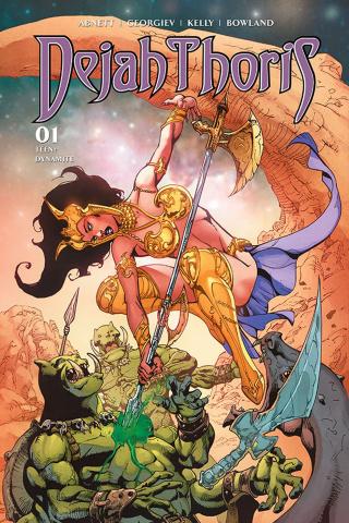 Dejah Thoris #1 (Castro Dressed Bonus Cover)