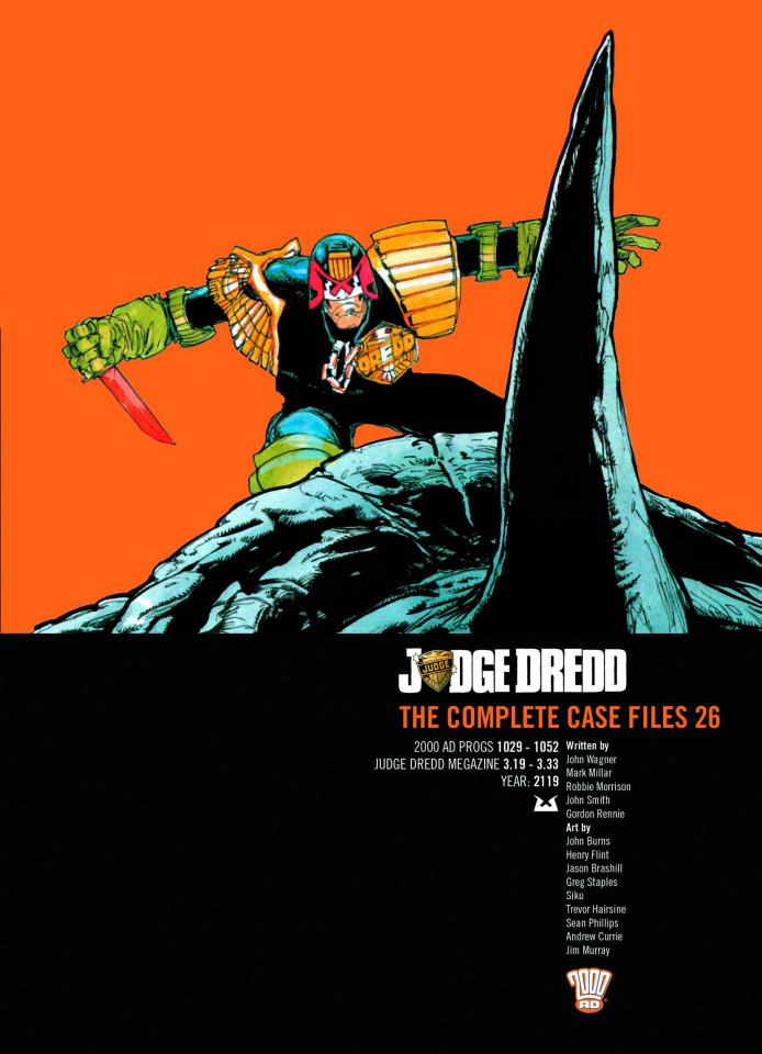 Judge Dredd: The Complete Case Files Vol. 26