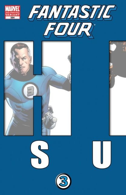Fantastic Four #584 (2nd Printing Epting Cover)