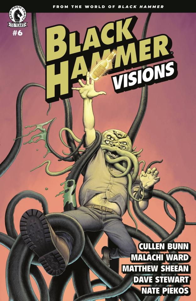 Black Hammer: Visions #6 (Ward & Sheean Cover)
