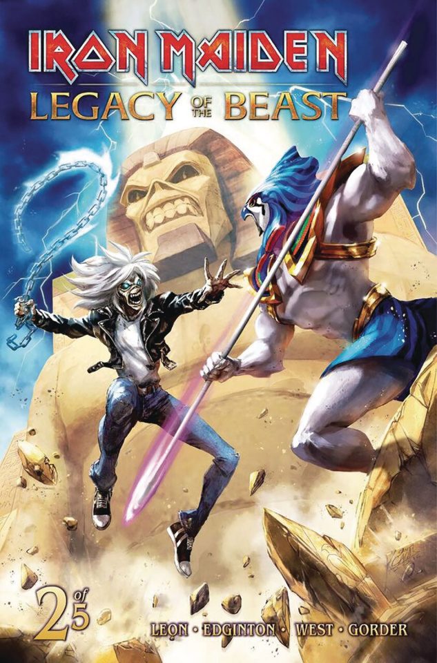 Iron Maiden: Legacy of the Beast #2 (Casas Cover)