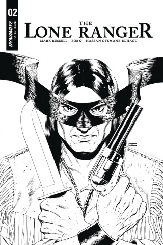 The Lone Ranger #2 (10 Copy Cassaday B&W Cover)