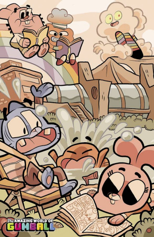 The Amazing World of Gumball #1 (SDCC Cover)