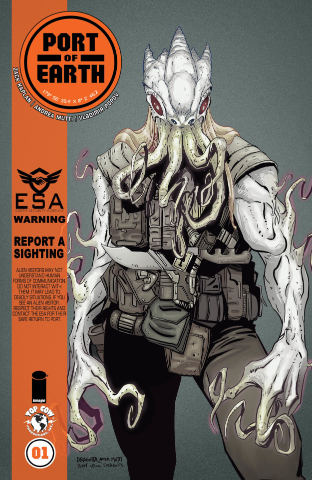 Port of Earth #1 (Dragotta Cover)