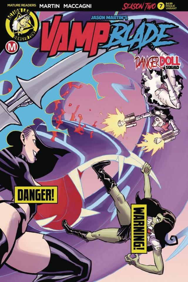 Vampblade, Season Two #7 (Winston Young Risque Cover)