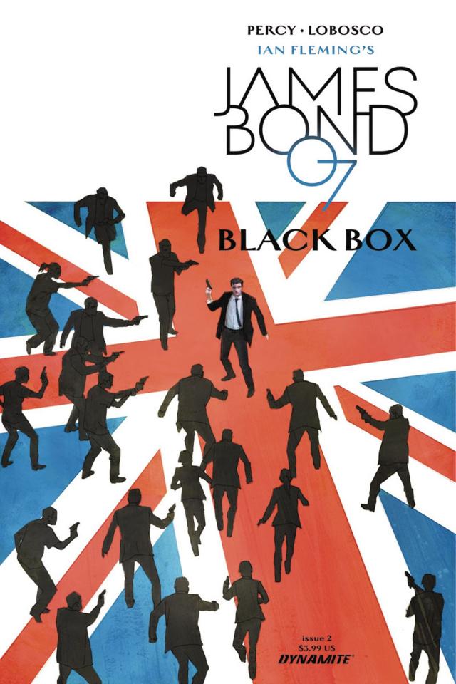 James Bond: Black Box #2 (Reardon Cover)