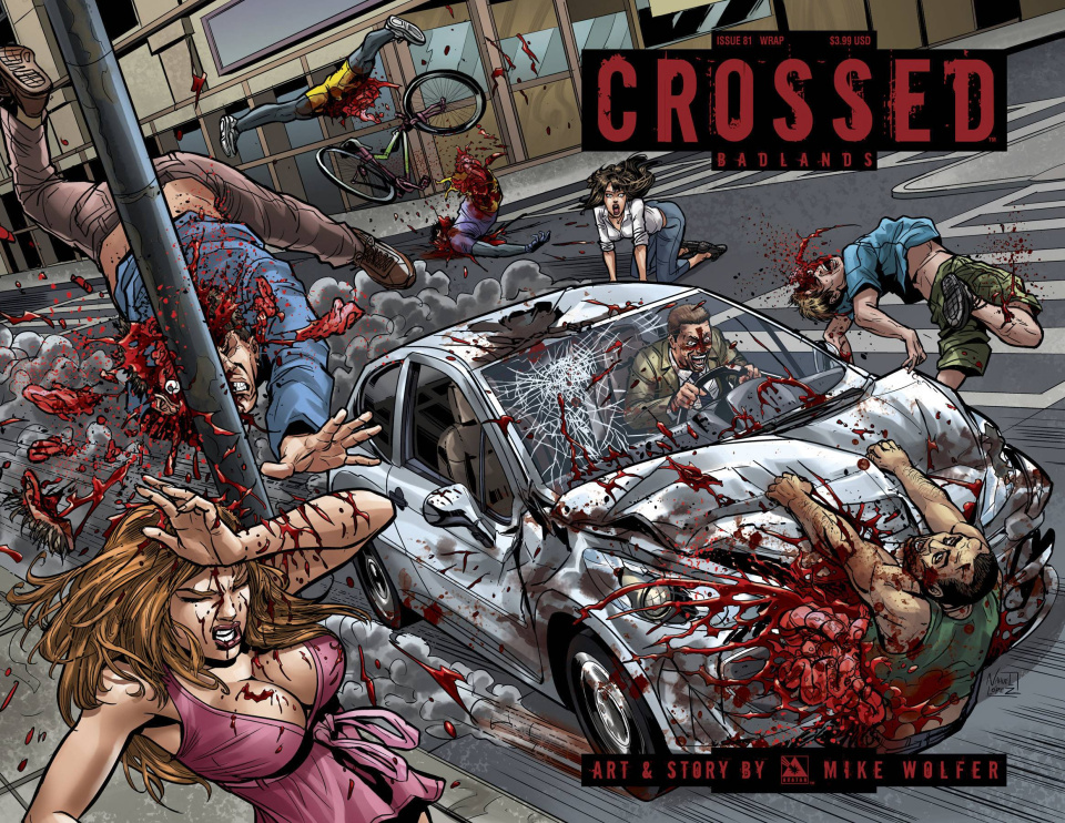 Crossed: Badlands #81 (Wrap Cover)