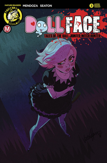 Dollface #3 (Harris Cover)
