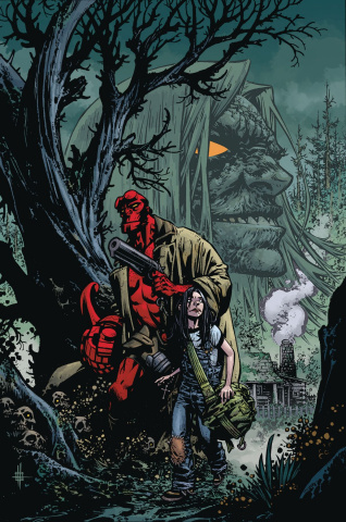 Hellboy and the B.P.R.D.: The Return of Effie Kolb #1 (Howard Cover)
