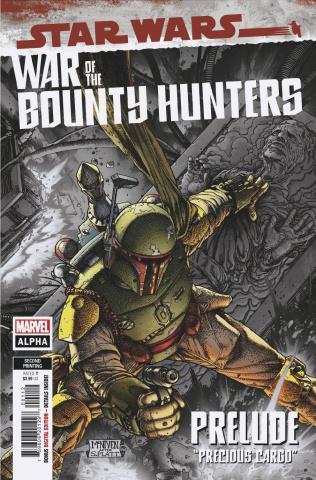 Star Wars: War of the Bounty Hunters Alpha #1 (McNiven 2nd Printing)