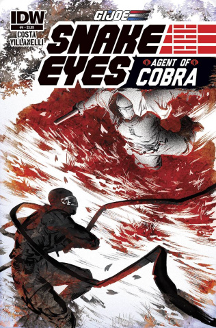 G.I. Joe: Snake Eyes - Agent of Cobra #4