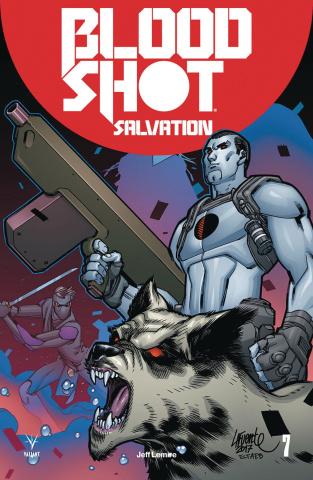 Bloodshot: Salvation #7 (20 Copy Lafuente Cover)
