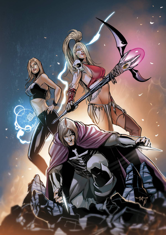 Grimm Fairy Tales: The Coven #3 (Qualano Cover)