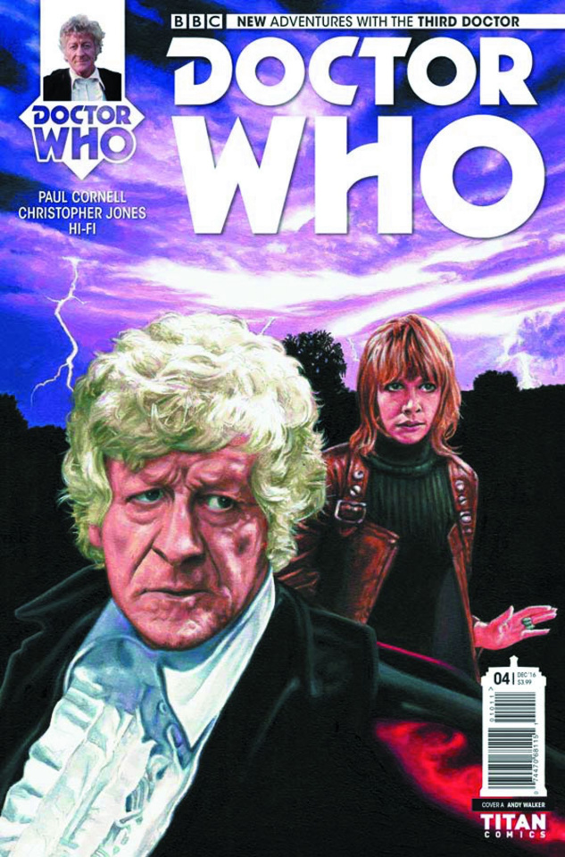 Doctor Who: New Adventures with the Third Doctor #4 (Walker Cover)