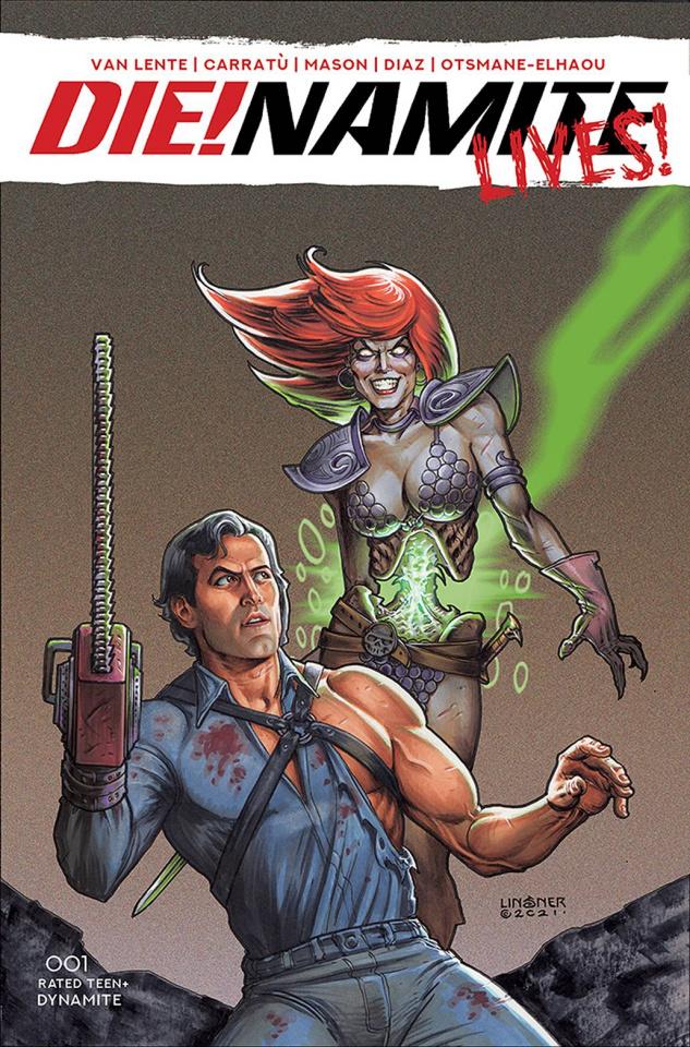 DIE!namite Lives! #1 (Linsner Cover)