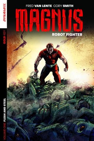Magnus, Robot Fighter Vol. 1: Flesh and Steel