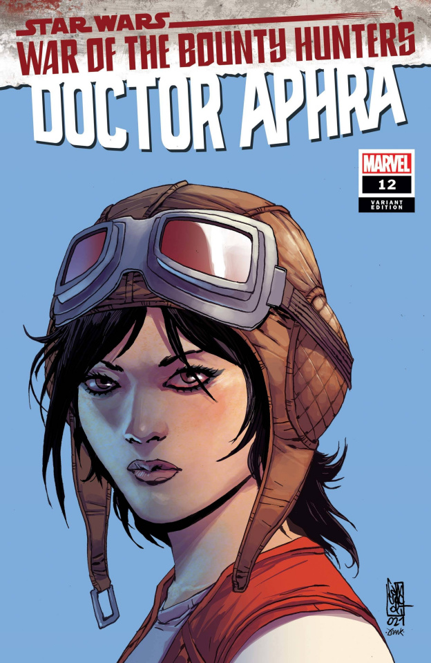 Star Wars: Doctor Aphra #12 (Camuncoli Headshot Cover)