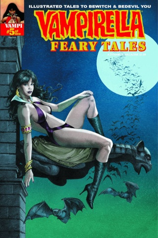 Vampirella: Feary Tales #5 (Subscription Cover)