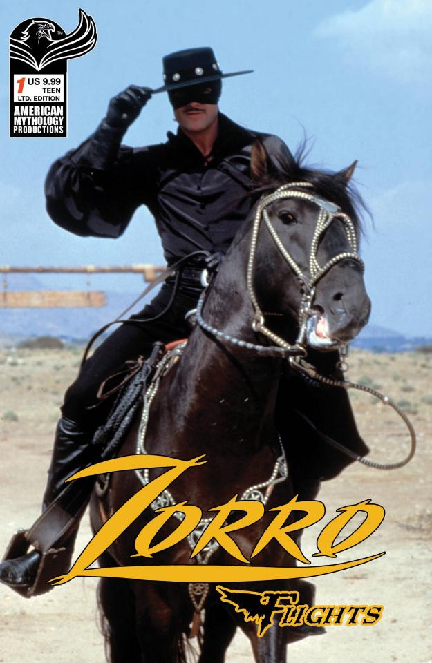 Zorro Flights #1 (Carratu Cover)