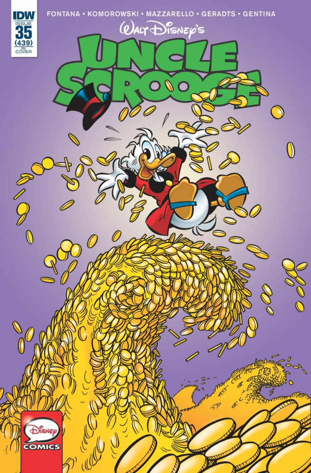 Uncle Scrooge #35 (10 Copy Cover)