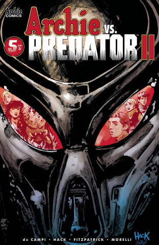 Archie vs. Predator II #5 (Hack Cover)