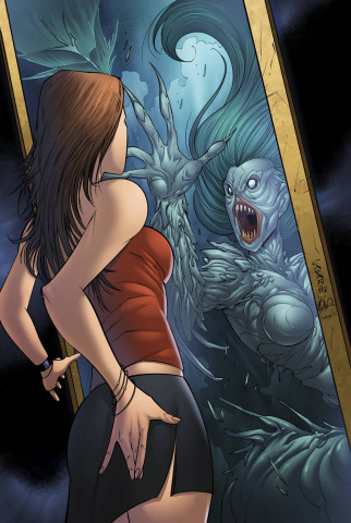 Grimm Fairy Tales: The Little Mermaid #4 (Cafaro Cover)