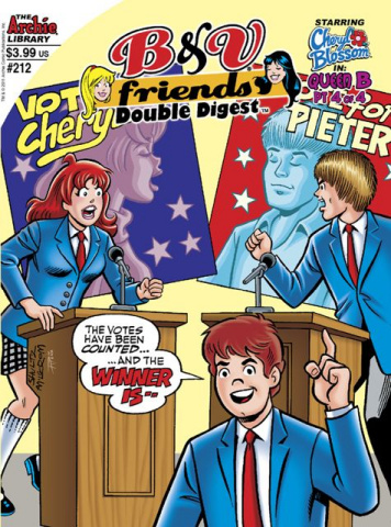 Betty & Veronica Friends Double Digest #212