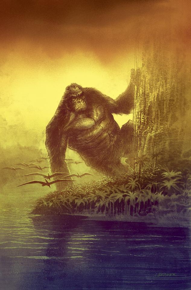Kong of Skull Island #4 (10 Copy Brunner Cover)